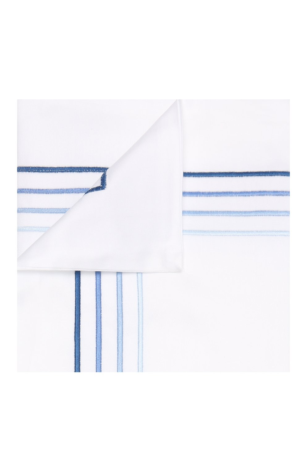 Мужского хлопковая наволочка FRETTE синего цвета, арт. FO7092 E0700 051C   Фото 1