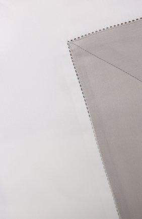 Хлопковая наволочка FRETTE серебряного цвета, арт. FR2934 E0700 065B | Фото 2