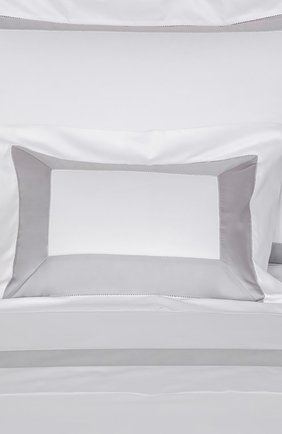 Хлопковая наволочка FRETTE серебряного цвета, арт. FR2934 E0700 030B | Фото 2