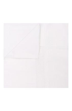 Хлопковая наволочка FRETTE белого цвета, арт. FR0401 E0700 030B | Фото 1