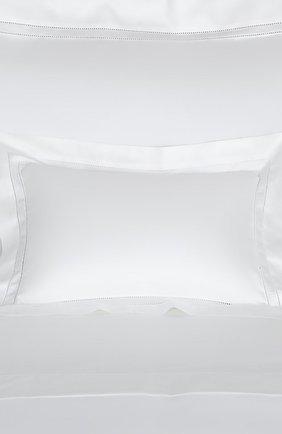 Хлопковая наволочка FRETTE белого цвета, арт. FR0401 E0700 030B | Фото 2