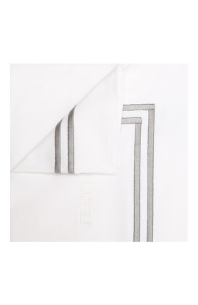 Хлопковая наволочка FRETTE серого цвета, арт. FA7017 E0700 065B | Фото 1