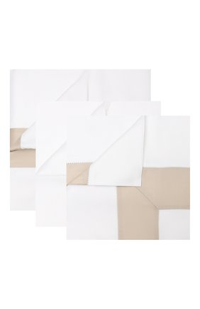 Комплект постельного белья из 4-х предметов FRETTE бежевого цвета, арт. FR2934 E3491 220B | Фото 1