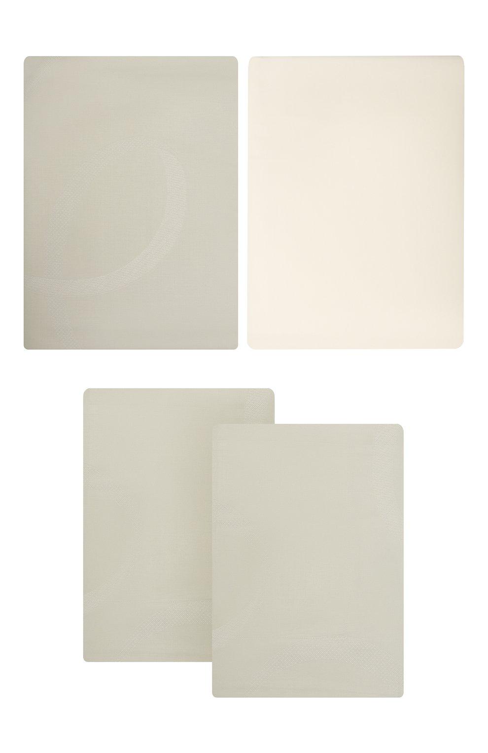 Мужского комплект постельного белья из 4-х предметов FRETTE зеленого цвета, арт. FR6596 E3454 240B | Фото 1