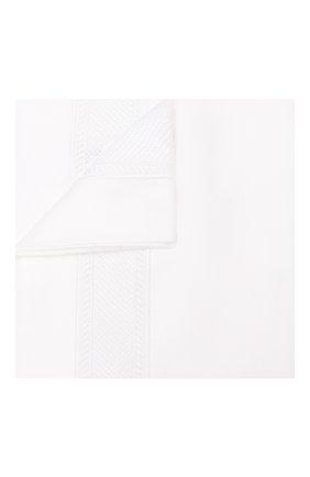 Хлопковая наволочка FRETTE белого цвета, арт. FR6683 E0700 051C | Фото 1