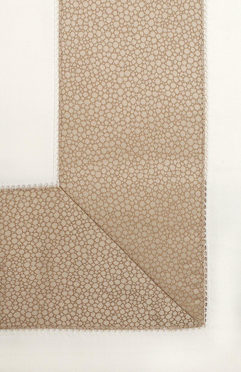 Мужского комплект постельного белья из 4-х предметов FRETTE бежевого цвета, арт. FR6587 E3491 240B | Фото 2