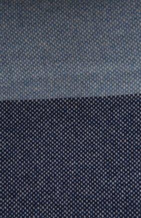 Шерстяной плед FRETTE синего цвета, арт. F06291 F0400 130D | Фото 2