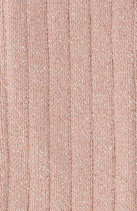 Детские хлопковые колготки COLLEGIEN розового цвета, арт. 6990 | Фото 2