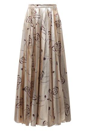 Женская юбка RALPH LAUREN бежевого цвета, арт. 293829112 | Фото 1
