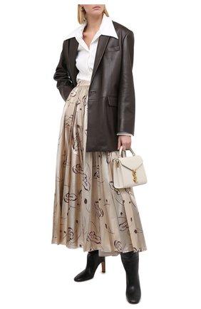 Женская юбка RALPH LAUREN бежевого цвета, арт. 293829112 | Фото 2