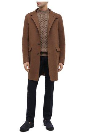 Мужские шерстяные брюки JACOB COHEN темно-синего цвета, арт. B0BBY W00L 06968-N/54 | Фото 2