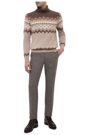 Мужские кожаные ботинки W.GIBBS темно-коричневого цвета, арт. 0639006/0220 | Фото 2
