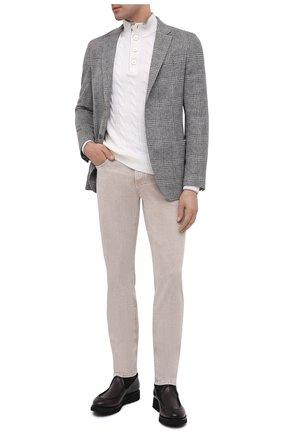 Мужские кожаные сапоги W.GIBBS черного цвета, арт. 0877009/0119 | Фото 2