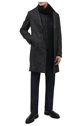 Мужские кожаные челси W.GIBBS черного цвета, арт. 7260004/2311 | Фото 2