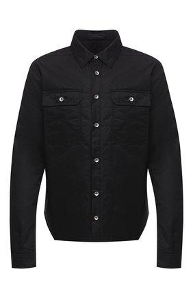 Мужская куртка-рубашка DRKSHDW черного цвета, арт. DU20F1755 CN   Фото 1