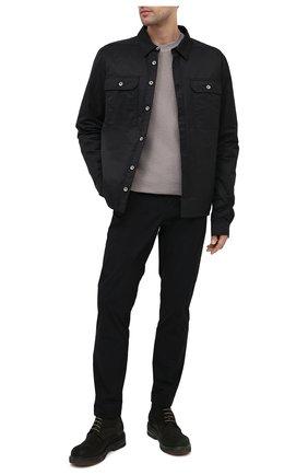 Мужская куртка-рубашка DRKSHDW черного цвета, арт. DU20F1755 CN   Фото 2