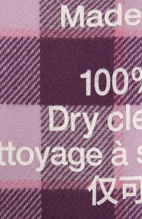 Мужской шерстяной шарф ACNE STUDIOS фиолетового цвета, арт. CA0103/W | Фото 2