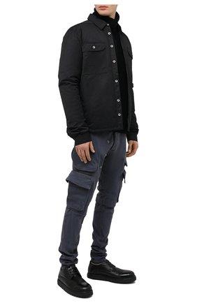 Мужские кожаные дерби MARSELL черного цвета, арт. MMG353/PELLE V0L0NATA | Фото 2