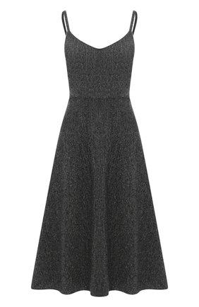 Женское шерстяное платье VALENTINO серого цвета, арт. UB0VAU0060S | Фото 1