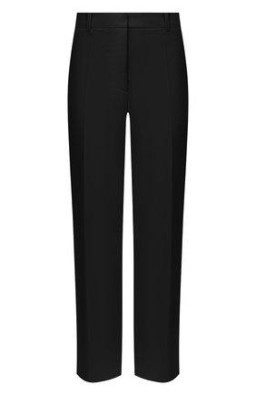 Женские шерстяные брюки JOSEPH черного цвета, арт. JP000982 | Фото 1