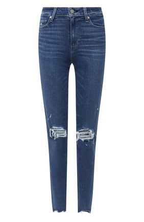 Женские джинсы PAIGE синего цвета, арт. 3757984-1694 | Фото 1