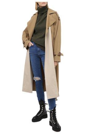 Женские джинсы PAIGE синего цвета, арт. 3757984-1694 | Фото 2