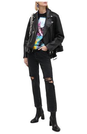 Женские джинсы PAIGE серого цвета, арт. 4574G82-8239 | Фото 2