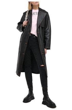 Женские джинсы PAIGE черного цвета, арт. 5673B80-8123 | Фото 2
