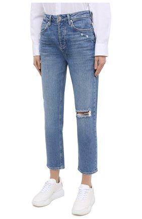 Женские джинсы PAIGE синего цвета, арт. 6113635-1767 | Фото 3
