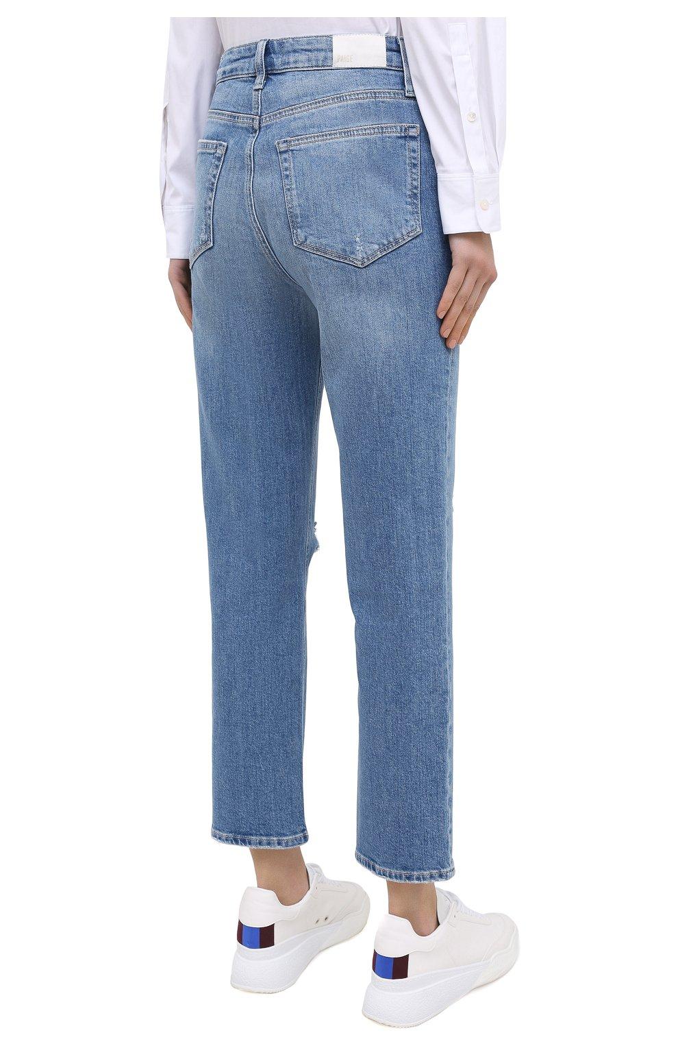 Женские джинсы PAIGE синего цвета, арт. 6113635-1767 | Фото 4