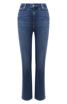 Женские джинсы PAIGE синего цвета, арт. 6269F72-1641   Фото 1