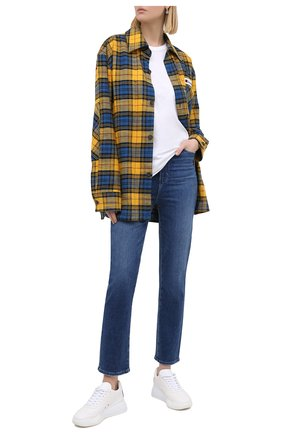 Женские джинсы PAIGE синего цвета, арт. 6269F72-1641   Фото 2