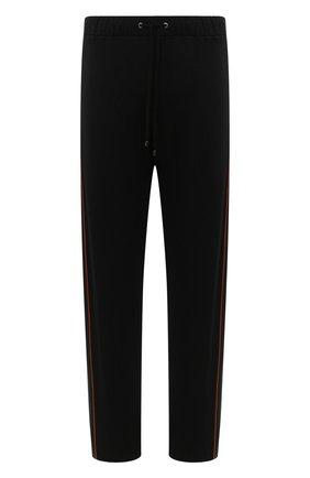 Мужские домашние брюки из вискозы ZIMMERLI черного цвета, арт. 1355-21108 | Фото 1