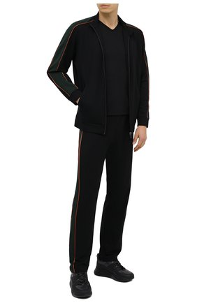 Мужские домашние брюки из вискозы ZIMMERLI черного цвета, арт. 1355-21108 | Фото 2