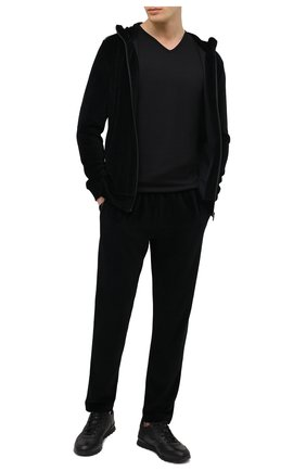 Мужские домашние брюки ZIMMERLI черного цвета, арт. 5112-21331 | Фото 2