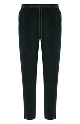 Мужские домашние брюки ZIMMERLI темно-зеленого цвета, арт. 5112-21331 | Фото 1