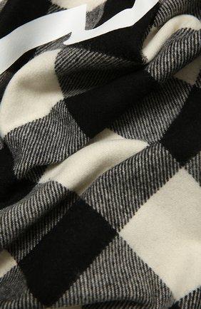 Мужской шерстяной шарф MONCLER черно-белого цвета, арт. F2-091-3C707-00-A0154   Фото 2