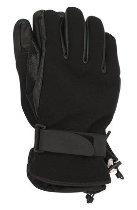 Мужские комбинированные перчатки MONCLER GRENOBLE черного цвета, арт. F2-097-3A600-00-53063 | Фото 1
