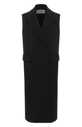 Женский жилет VALENTINO черного цвета, арт. UB0CFA25708   Фото 1