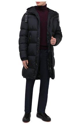 Мужской кашемировый свитер CORNELIANI фиолетового цвета, арт. 86M543-0825144/00 | Фото 2