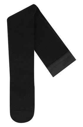 Детские шерстяные колготки COLLEGIEN черного цвета, арт. 5993 | Фото 1
