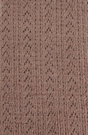 Детские шерстяные колготки COLLEGIEN розового цвета, арт. 5993 | Фото 2