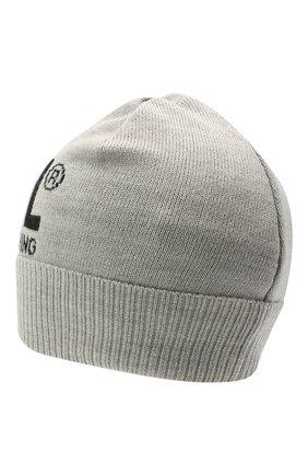 Детского шапка DIESEL серого цвета, арт. 00J52B-0NABQ | Фото 2