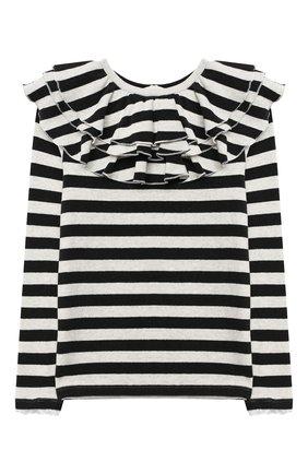 Детский пуловер DOUUOD черно-белого цвета, арт. 20I/U/JR/JM11/3040/10A-14A | Фото 1