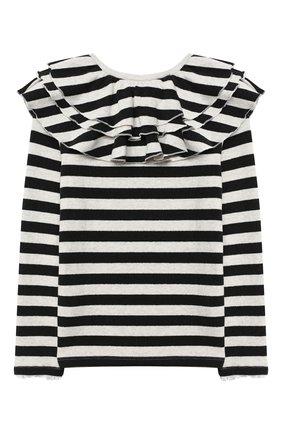 Детский пуловер DOUUOD черно-белого цвета, арт. 20I/U/JR/JM11/3040/10A-14A | Фото 2