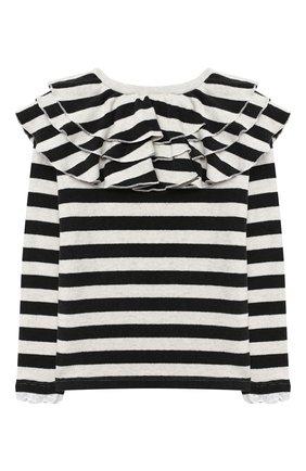 Детский пуловер DOUUOD черно-белого цвета, арт. 20I/U/JR/JM11/3040/4A-8A | Фото 2