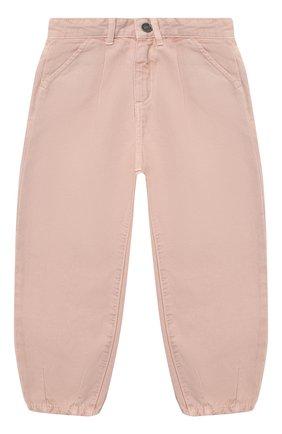 Детские джинсы DOUUOD розового цвета, арт. 20I/U/JR/PA01/2520/4A-8A | Фото 1