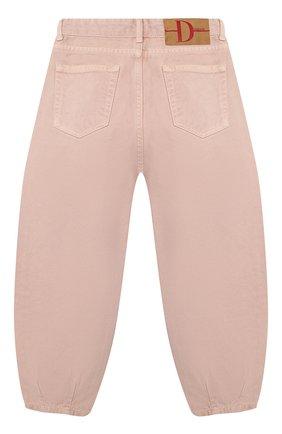 Детские джинсы DOUUOD розового цвета, арт. 20I/U/JR/PA01/2520/4A-8A | Фото 2