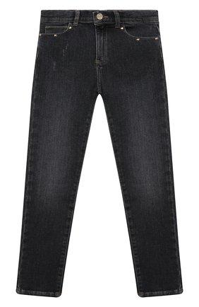 Детские джинсы DOUUOD серого цвета, арт. 20I/U/JR/PJ01/1012/10A-14A | Фото 1