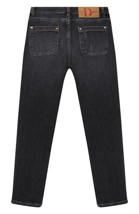 Детские джинсы DOUUOD серого цвета, арт. 20I/U/JR/PJ01/1012/10A-14A | Фото 2